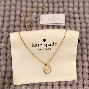 NEW 2018♠️ Kate Spade spot the Spade necklace gold
